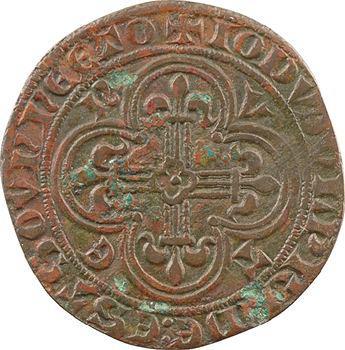 Moyen-Âge, jeton de compte, Jeanne de France, s.d