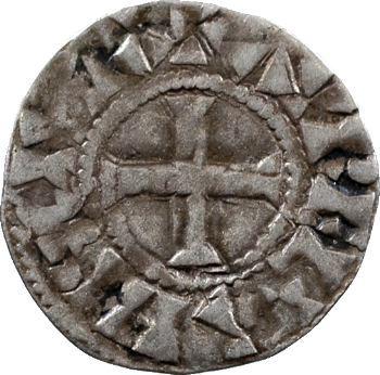 Orléanais, Orléans (vicomté d'), denier au nom d'Hugues, c.1010-1025