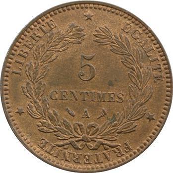 IIIe République, 5 centimes Cérès, 1897 Paris