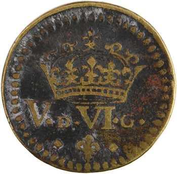 Louis XIII à Louis XIV, poids monétaire du louis au 8 L, (1610-1643)