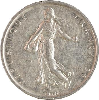 Ve République, essai de 5 francs Semeuse, 1959 Paris