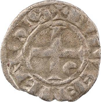 Nivernais, Nevers (comté de), Eudes de Bourgogne, denier, s.d. (1257-1267) Nevers