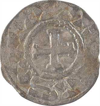 Troyes (comté de), Anonymes, époque d'Eudes II, denier, s.d. (début du XIe s.) Troyes