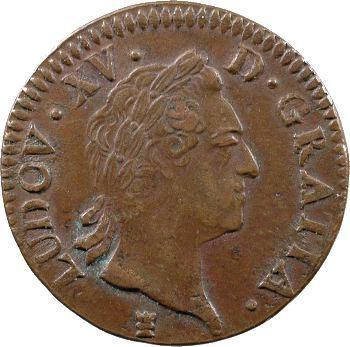 Louis XV, sol à la vieille tête, 1773 Limoges