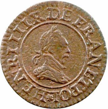 Henri III, denier tournois, 1588 Paris