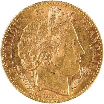 IIIe République, 10 francs Cérès, 1899 Paris