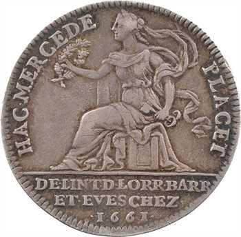 Louis XIV, restitution de la Lorraine ducale à Charles IV, 1661 Paris