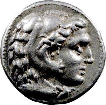 Alexandre III le Grand, tétradrachme, Macédoine, 325-310 av. J.-C.