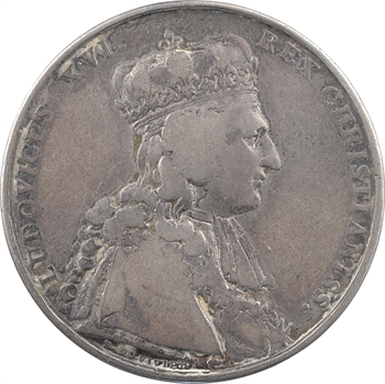 Louis XVI, sacre à Reims le 11 juin 1775, par B. Duvivier et Gatteaux, transformée pour mariage, 1775-1786 Paris