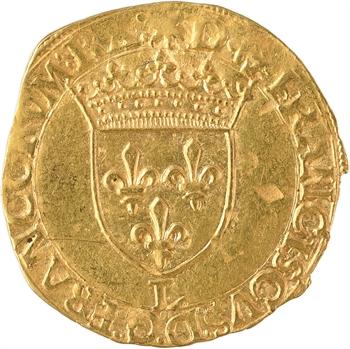 François Ier, écu d'or au soleil 12e type, Bayonne