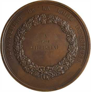 Louis-Philippe Ier, Loire inférieure, épidémie de choléra, par Rogat, 1832 Paris