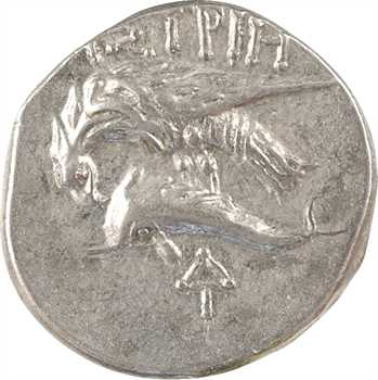 Thrace, Istros, drachme (Delta-I), IVe s. av. J.-C.