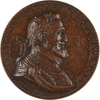 Henri IV, la traité de paix de Vervins, par Conrad Bloc, 1598 (postérieure)