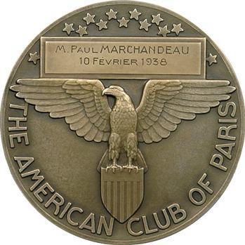 Turin (P.) : Eloquentia, American Club de Paris, à M. Paul Marchandeau, 1938 Paris