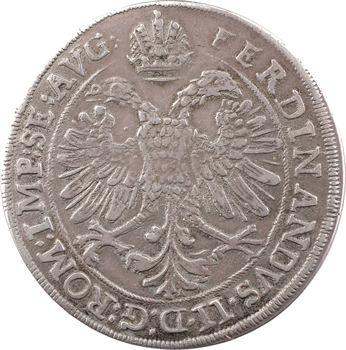 Alsace, Murbach et Lure (abbaye de), Léopold-Guillaume, thaler, s.d. (1624-1662) Ensisheim