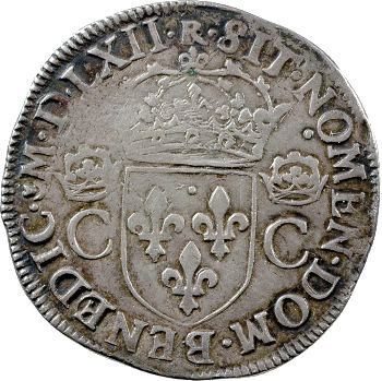 Charles IX, teston, 1562 Toulouse