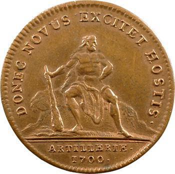 Artillerie, Louis-Auguste de Bourbon, 1700 Paris