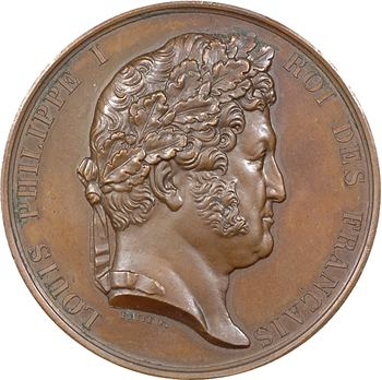 Louis-Philippe Ier, réorganisation de la Garde Nationale, par Petit, 1831 Paris