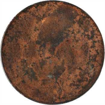 IIe République, concours uniface de 5 francs par Barre, s.d. (1848) Paris