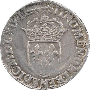 Charles IX, teston 6e type, 1572 Lyon