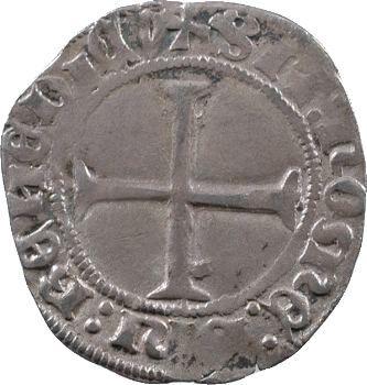 Charles VII, petit blanc au K, 2e émission, Poitiers