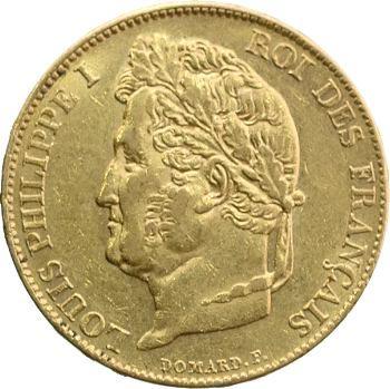 Louis-Philippe Ier, 20 francs Domard, 1834 Paris