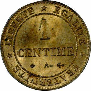 IIIe République, 1 centime Cérès, 1875 Paris