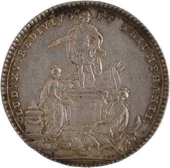 Louis XV, Bretagne, la guérison du Roi à Metz, 1754 Paris