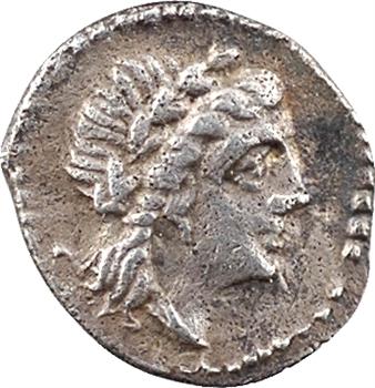Espagne (ou sud-est de la Gaule ?), indéterminé, hémiobole au croissant, c.IIIe siècle avant J.-C