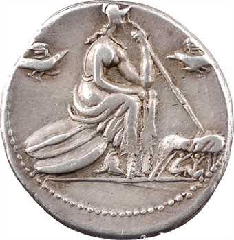Anonyme, denier, Rome, 115-114 av. J.-C.
