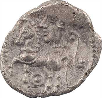 Lémovices, drachme à la petite tête, c.IIe s. av. J.-C.