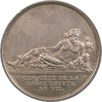Directoire, conquête de la Basse Égypte, An VII (1798)