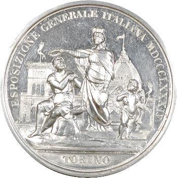 Italie, Exposition générale de Turin en 1884