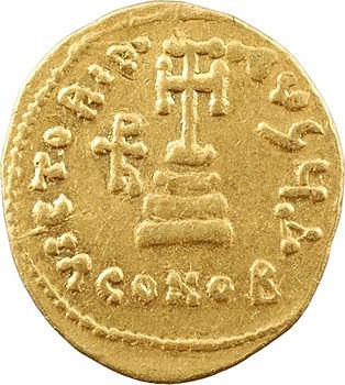 Héraclius, Héraclius Constantin et Héraclonas, solidus, Constantinople, 4e officine, 638-639