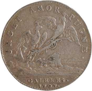 Louis XIV, galères, Louis, duc de Vendôme, 1707 Paris