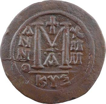 Justinien Ier, follis, Cyzique, 1re officine, An XIIII = 540-541