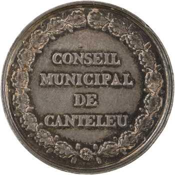 Second Empire, Conseil municipal de Canteleu (Normandie), s.d. Paris