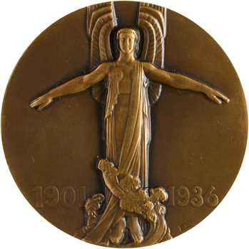 Blin (É.) : hommage à Jean Mermoz, 1936 Paris