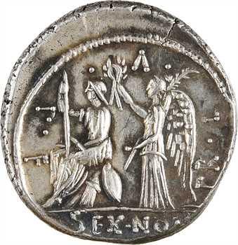 Nonia, denier, Rome, 59 av. J.-C