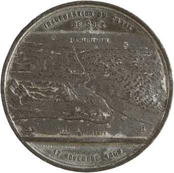 Égypte / Second Empire, inauguration du Canal de Suez, 1869 Turin
