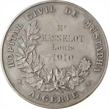 Algérie, Alger, Prix Poisson de l'hôpital civil Mustapha, 1910