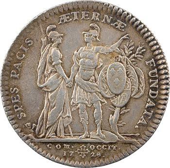 Languedoc (États de), les préliminaires de la Paix de Paris, 1728 Paris