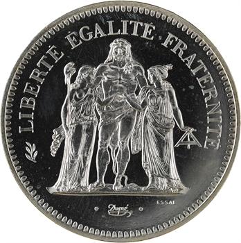 Ve République, essai de 50 francs Hercule, 1974 Pessac