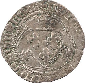 Louis XI, blanc à la couronne, Montpellier