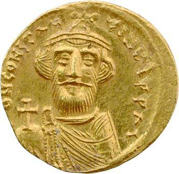 Constant II, solidus, Constantinople, 641-668