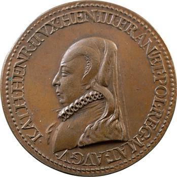 Catherine de Médicis, alliance avec les Suisses, 1582 (refrappe XIXe s.)