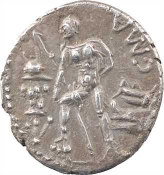 Poblicia, denier, Rome, 96 av. J.-C