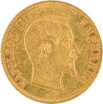 Second Empire, 100 francs tête nue, 1856 Paris