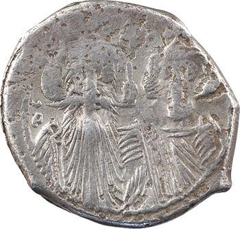 Constant II et Constantin IV, Héraclius et Tibère, hexagramme, s.d. (c.659) Constantinople