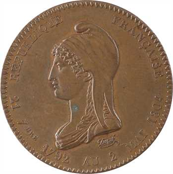 Premier Empire, souvenir de la Convention Nationale et de la Ière République, par Dupré et Barre, 1804 (post.) Paris